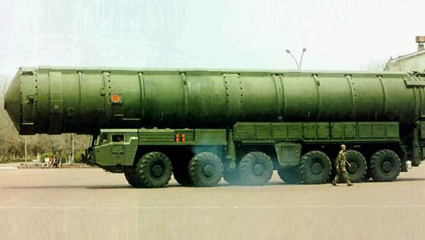 Misil intercontinental Dongfeng-41 (DF-41) - Sputnik Mundo