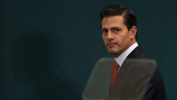 Enrique Peña Nieto, expresidente de México - Sputnik Mundo