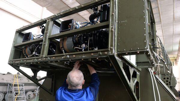 Вертолеты Ми-8 МТВ-5-1 с комплексами РЭБ Рычаг-АВ переданы ВВС России - Sputnik Mundo