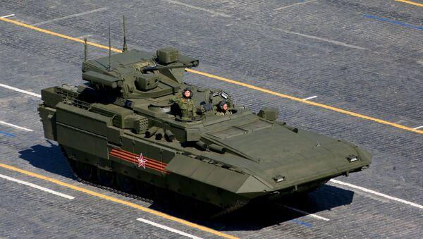 Vehículo de combate de infantería T-15 Armata - Sputnik Mundo