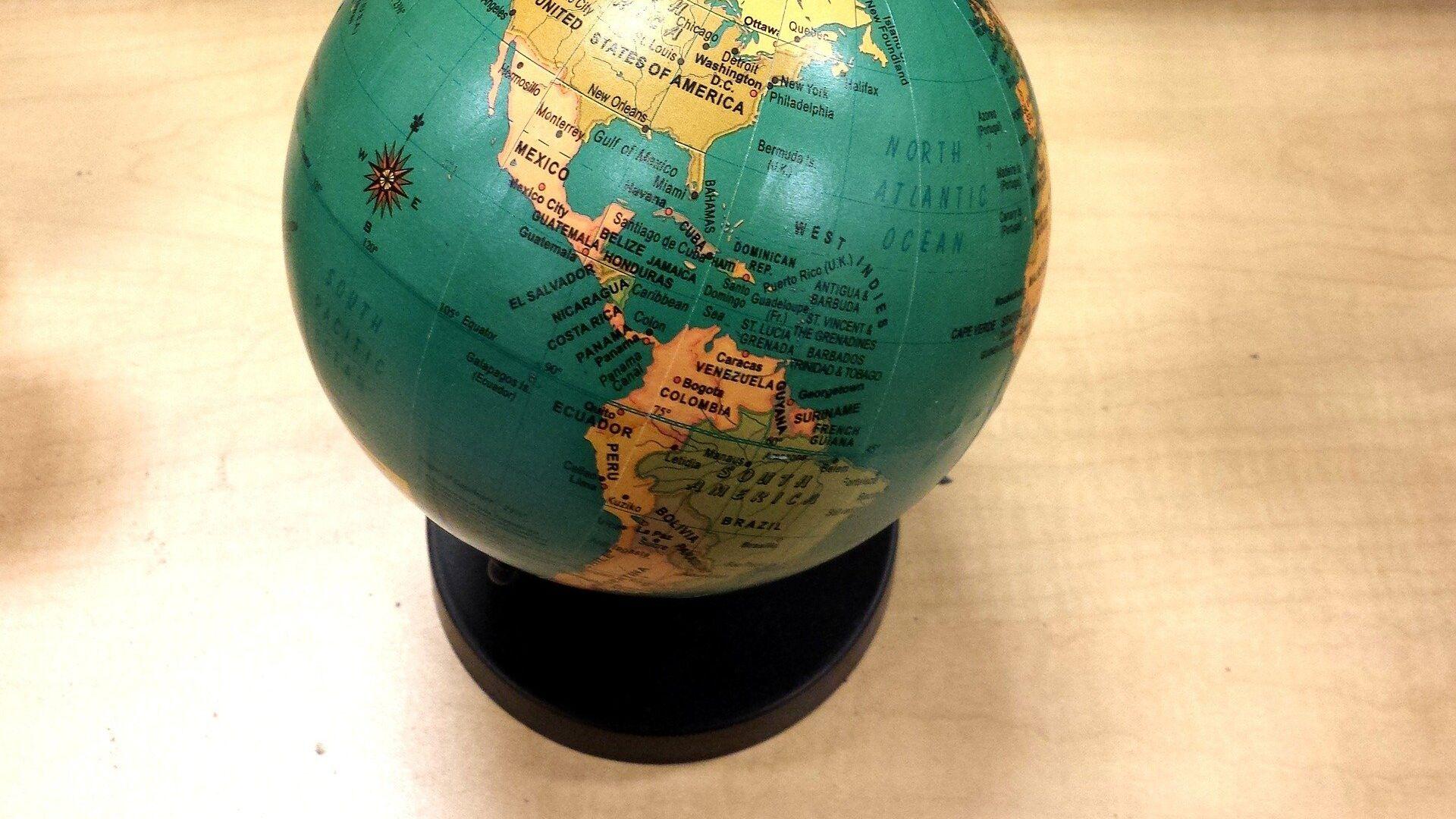 Globo terráqueo (imagen referencial) - Sputnik Mundo, 1920, 06.10.2021