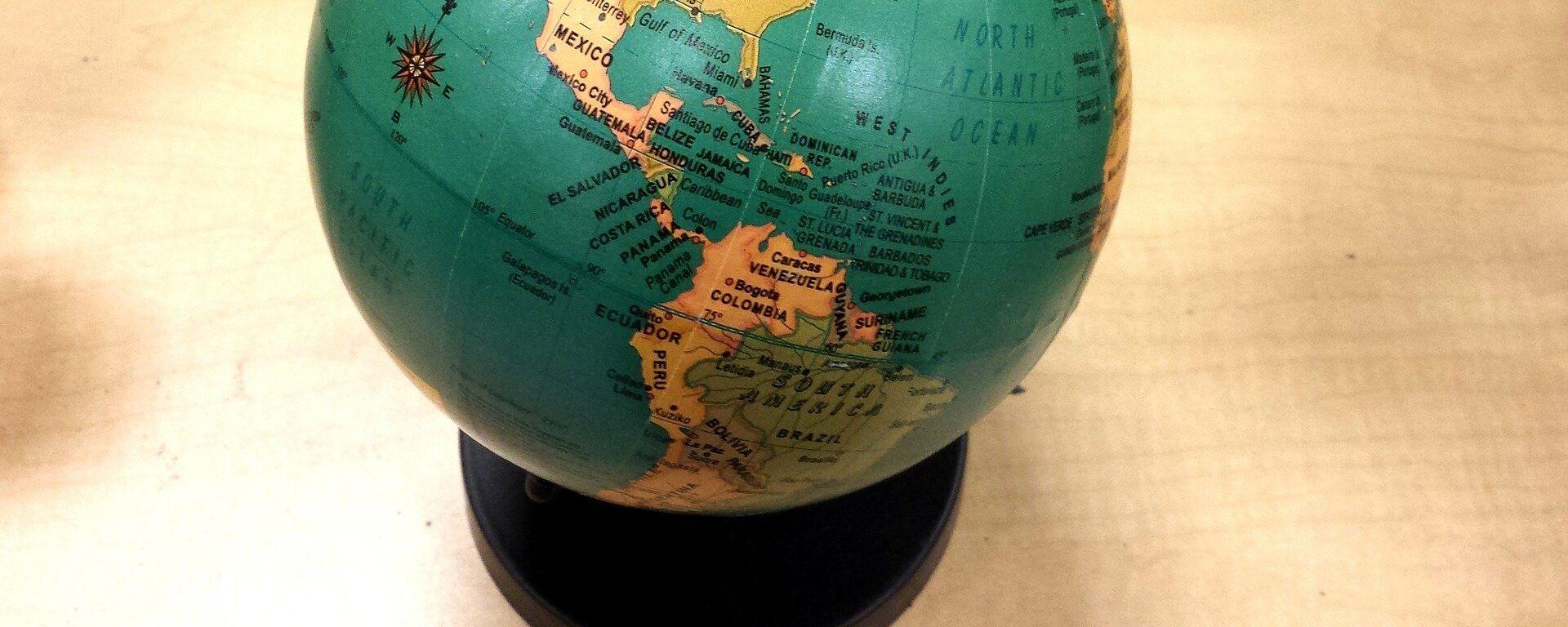 Globo terráqueo (imagen referencial) - Sputnik Mundo, 1920, 08.03.2021