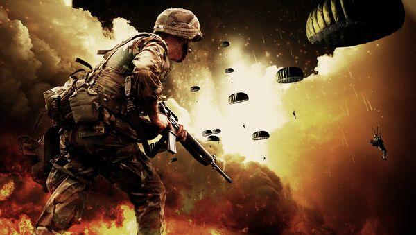 Un combatiente (imagen referencial) - Sputnik Mundo