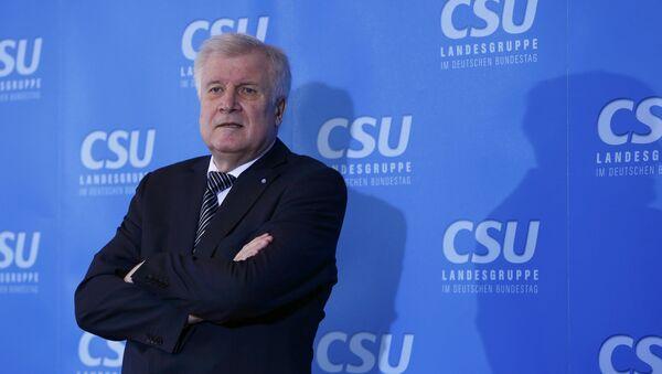 Horst Seehofer, político alemán - Sputnik Mundo