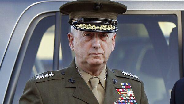 James Mattis, secretario de Defensa de los Estados Unidos - Sputnik Mundo