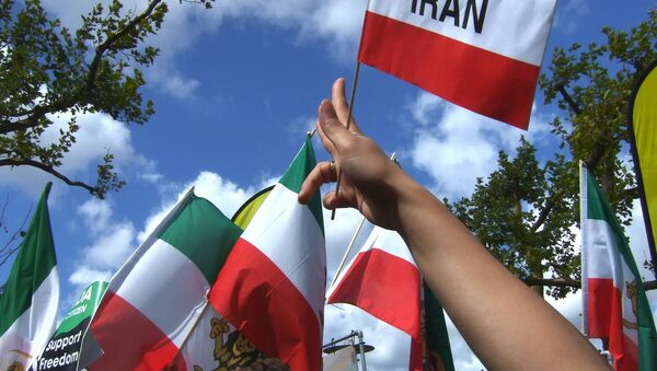 Las banderas de Irán - Sputnik Mundo