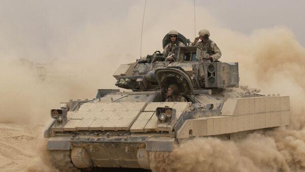 M2A2 Bradley Fighting Vehicle - Sputnik Mundo