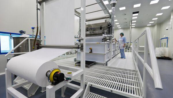 Produccion de tela de membrana - Sputnik Mundo