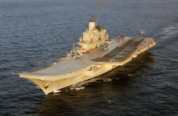 Campaña marítima de los buques de  la Flota del Norte de Rusia - Sputnik Mundo