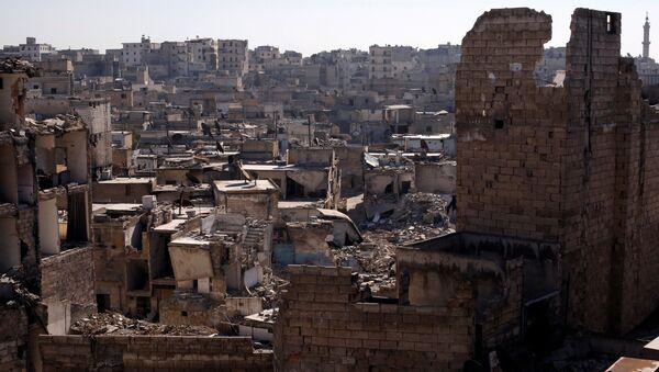Situación en la ciudad siria de Alepo - Sputnik Mundo