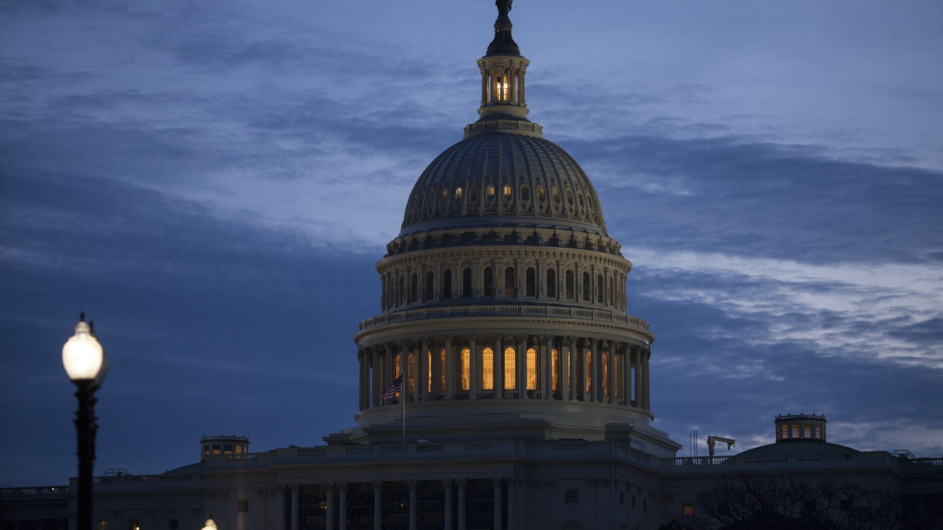 Senado de EEUU en Washington  - Sputnik Mundo, 1920, 30.09.2021