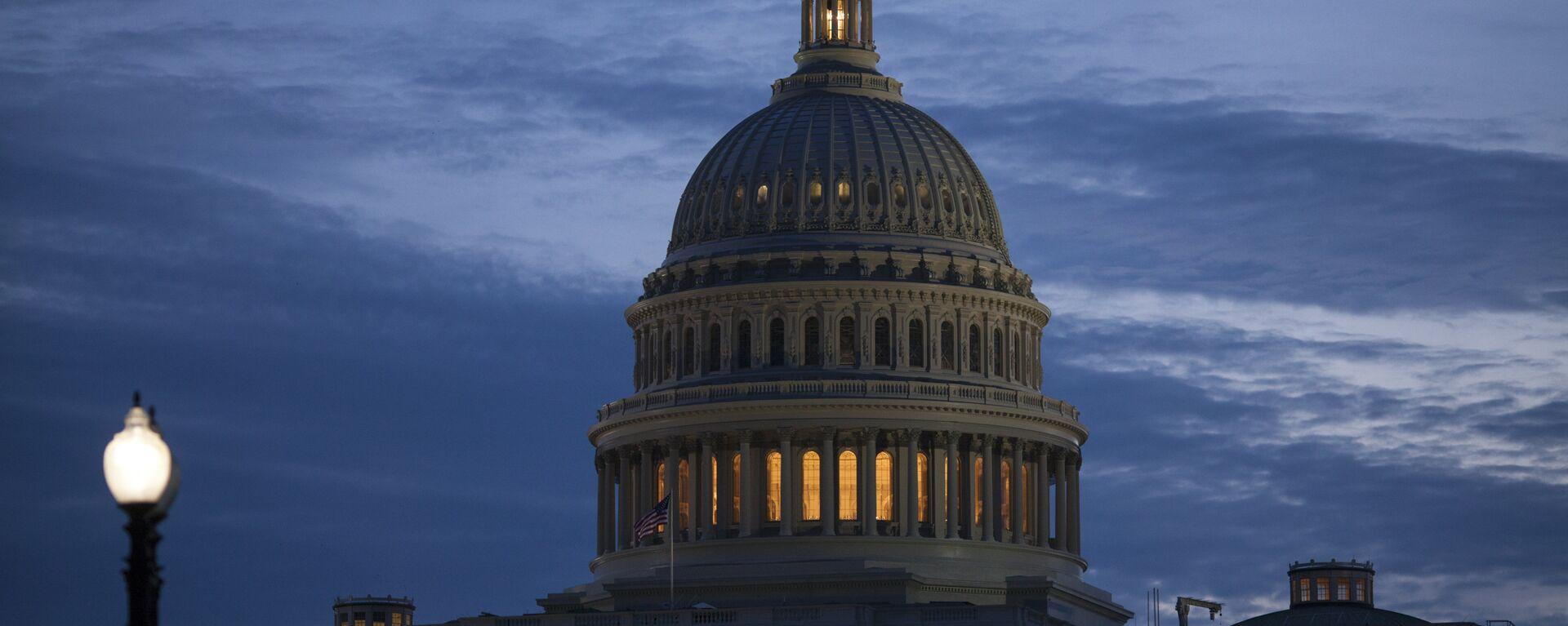 Senado de EEUU en Washington  - Sputnik Mundo, 1920, 05.10.2021