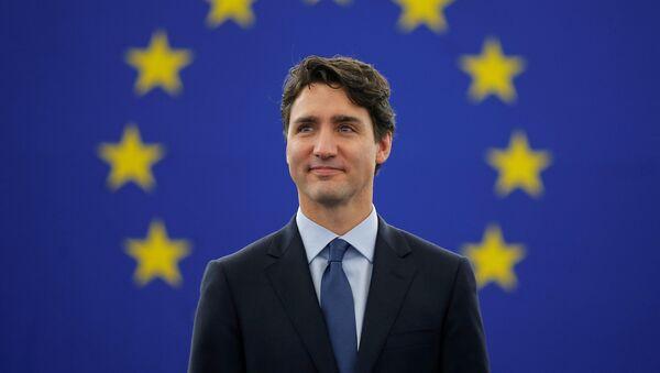 Justin Trudeau, primer ministro de Canadá (archivo) - Sputnik Mundo