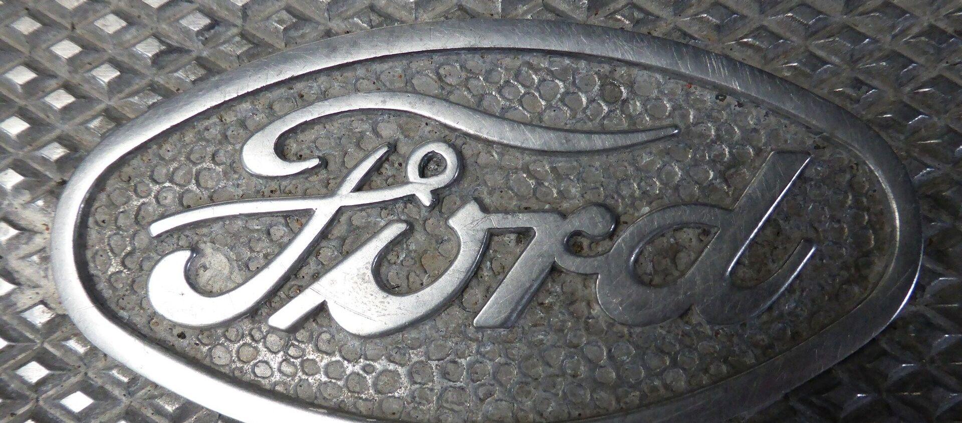 Logo de Ford - Sputnik Mundo, 1920, 11.12.2018