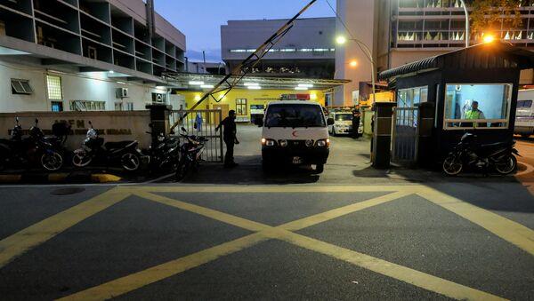 La morgue en el Hospital General de Kuala Lumpur - Sputnik Mundo