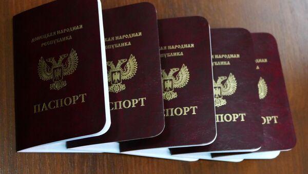 Pasaportes de la autoproclamada república de Donetsk - Sputnik Mundo