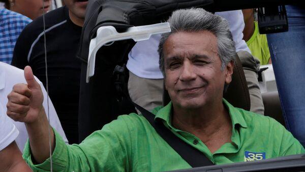 Lenín Moreno, candidato a la Presidencia de Ecuador - Sputnik Mundo