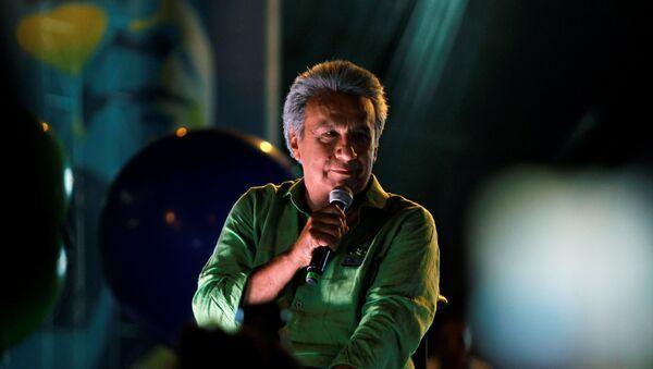 Lenín Moreno, presidente electo de Ecuador - Sputnik Mundo
