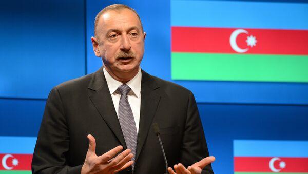 Iljam Aliyev, presidente azerbaiyano - Sputnik Mundo