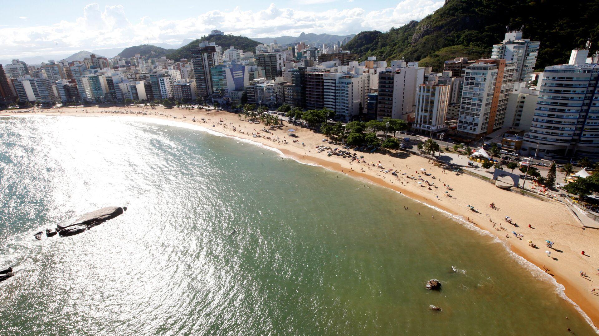 Una playa en Brasil - Sputnik Mundo, 1920, 11.02.2021