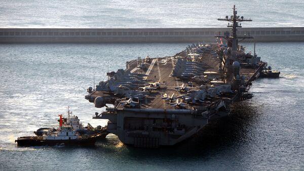 USS Carl Vinson (archivo) - Sputnik Mundo