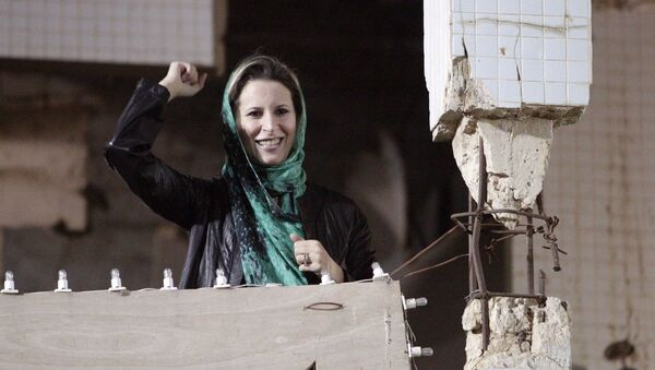 Aisha, la hija de Muamar Gadafi - Sputnik Mundo
