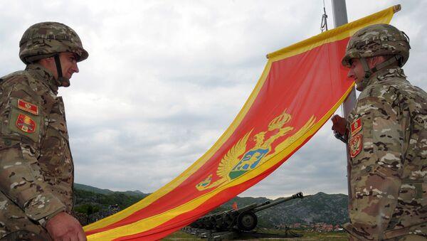 Soldados del Ejército montenegrino (archivo) - Sputnik Mundo