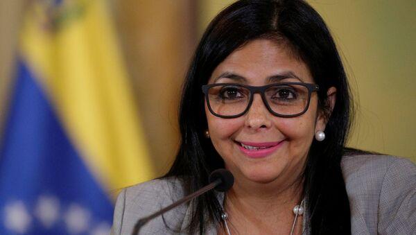 Delcy Rodríguez, ministra de Exteriores de Venezuela - Sputnik Mundo