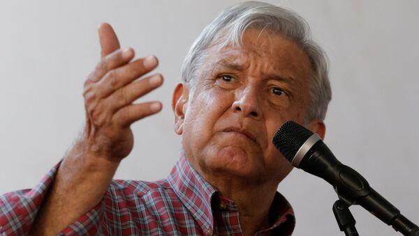 Andrés Manuel López Obrador, candidato a la presidencia de México (archivo) - Sputnik Mundo