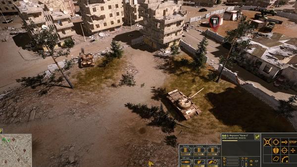 Captura de pantalla del videojuego 'Syrian Warfare' - Sputnik Mundo