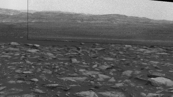 A dust devil on Mars - Sputnik Mundo