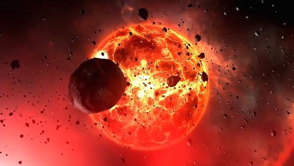 Ilustración gráfica de un objeto cósmico - Sputnik Mundo
