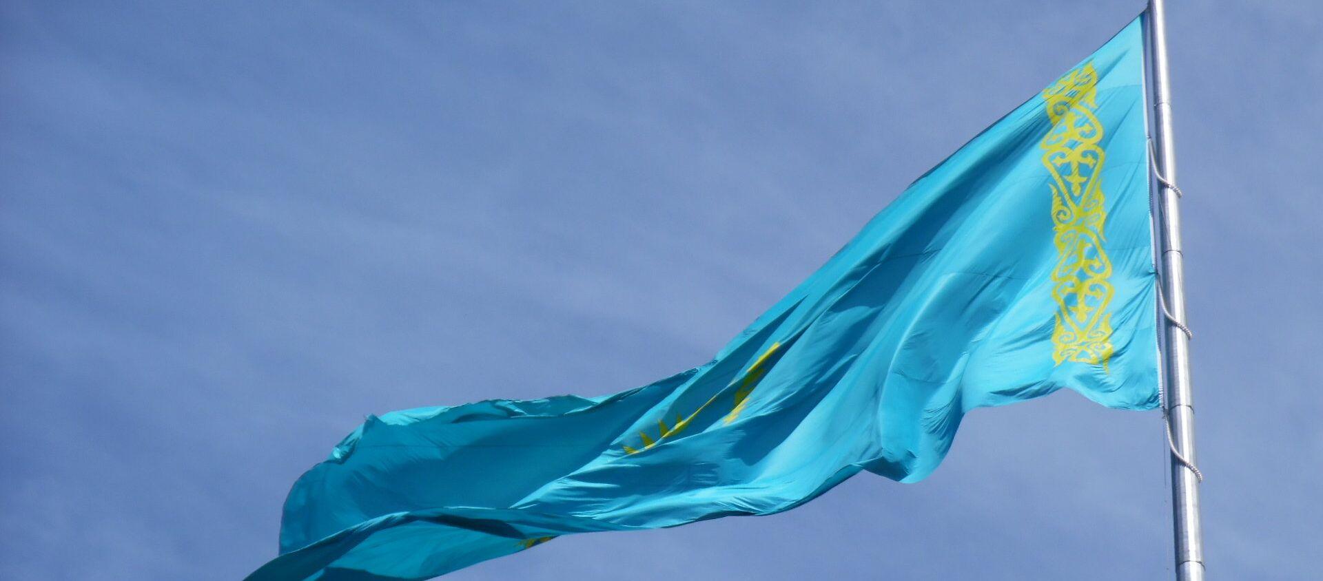 Bandera de Kazajistán - Sputnik Mundo, 1920, 16.10.2020