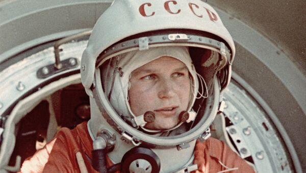 Valentina Tereshkova, cosmonauta rusa - Sputnik Mundo