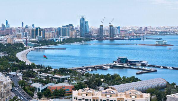 Bakú, la capital de Azerbaiyán - Sputnik Mundo