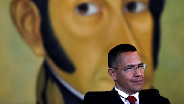 Ernesto Villegas, ministro de Comunicación e Información de Venezuela - Sputnik Mundo