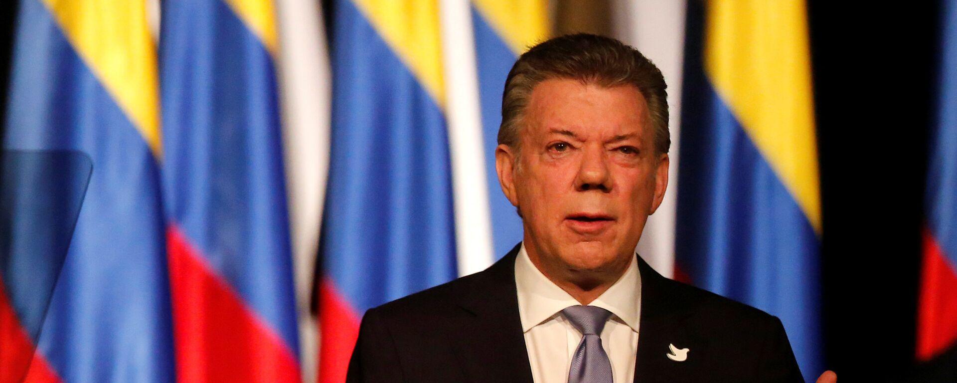 Juan Manuel Santos, expresidente de Colombia (Archivo) - Sputnik Mundo, 1920, 11.06.2021