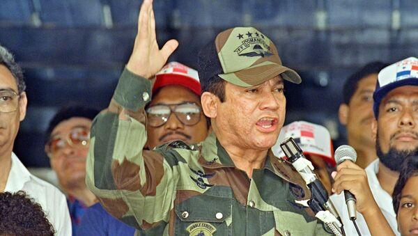 Exdictador panameño Manuel Noriega (archivo) - Sputnik Mundo