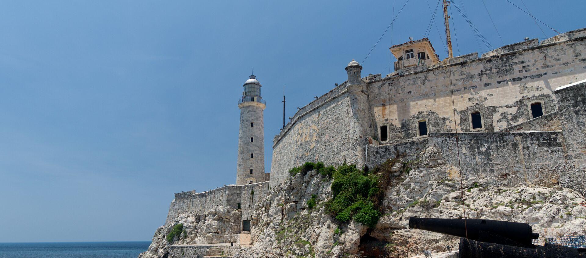 El castillo de los Tres Reyes del Morro, La Habana, Cuba - Sputnik Mundo, 1920, 15.01.2020