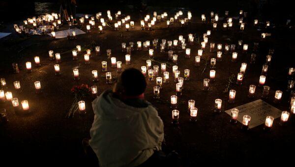 Homenaje a las víctimas del incendio en casa hogar en Guatemala (archivo) - Sputnik Mundo