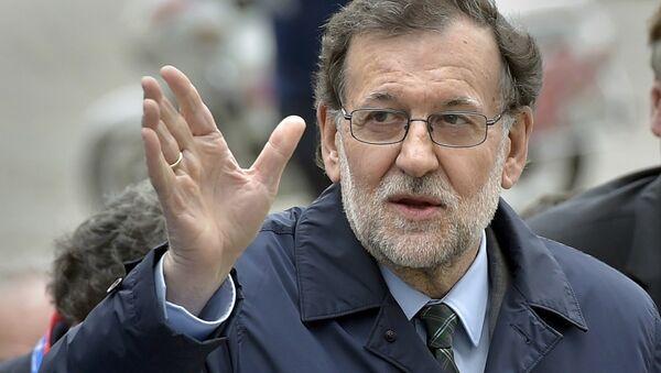 Mariano Rajoy, presidente del Gobierno español - Sputnik Mundo