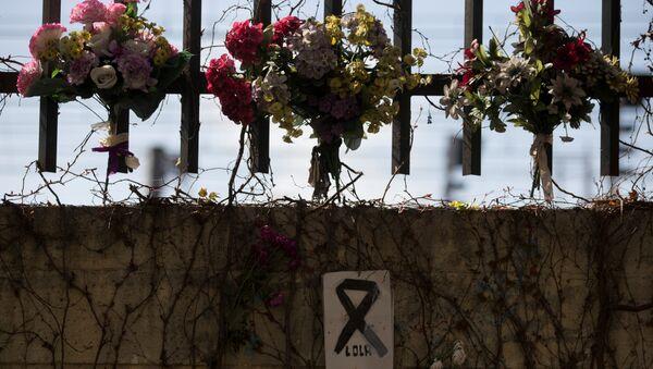Las flores en homenaje a las víctimas del atentado de 11-M en Madrid - Sputnik Mundo