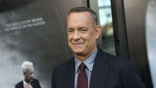 Actor Tom Hanks attends the screening of The Warner Bros. Pictures Sully in West Hollywood, California, on September 8, 2016.  - Sputnik Mundo