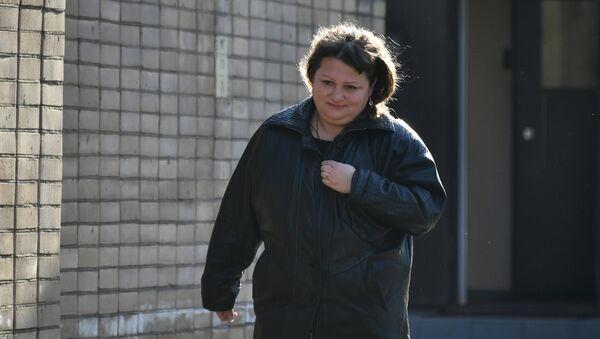 Oksana Sevastidi, sentenciada en 2015 a siete años de cárcel por alta traición - Sputnik Mundo