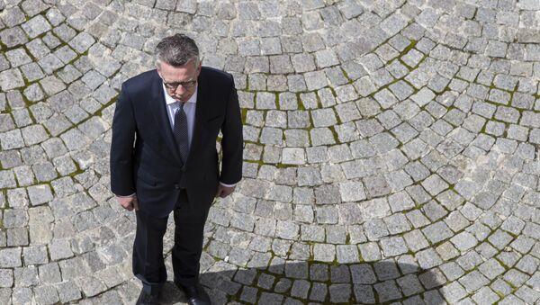 Bundesinnenminister Thomas de Maizière - Sputnik Mundo