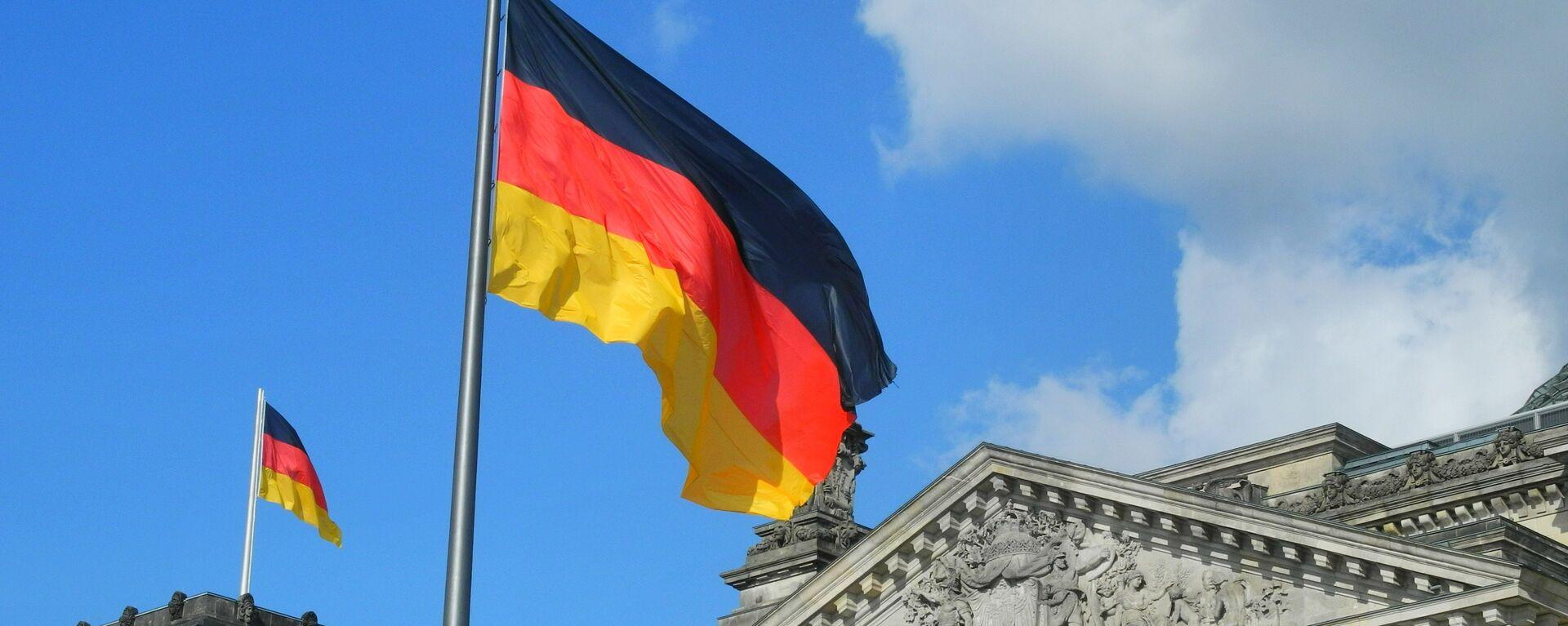 Bandera de Alemania - Sputnik Mundo, 1920, 04.10.2021