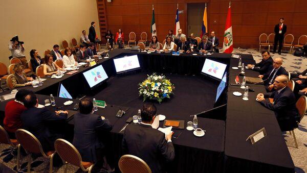 Cumbre de la Alianza del Pacífico en Chile - Sputnik Mundo