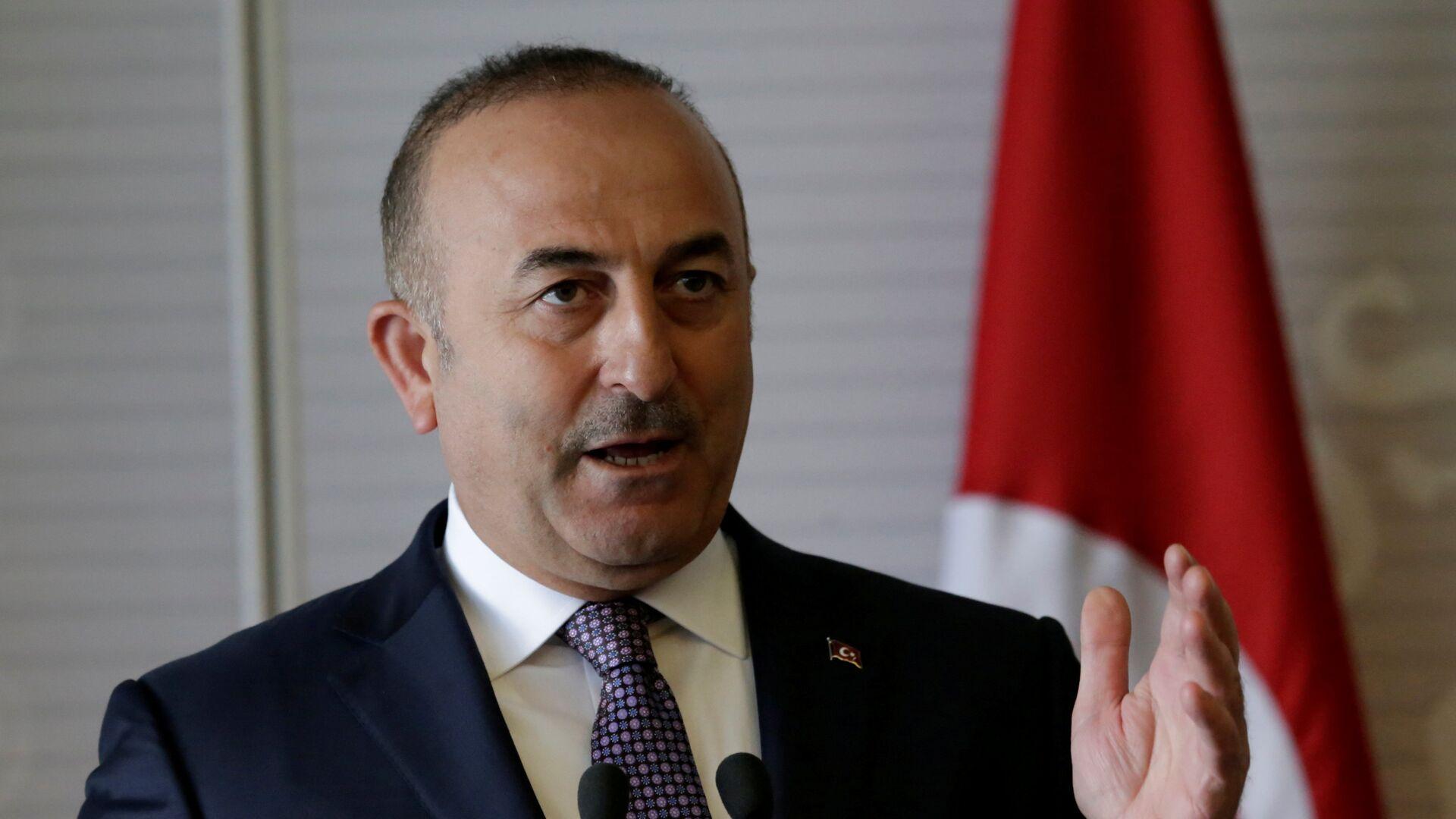 Mevlut Cavusoglu, ministro de Exteriores turco - Sputnik Mundo, 1920, 07.09.2021