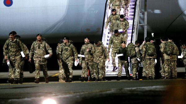 Militares británicos llegaron a Estonia - Sputnik Mundo