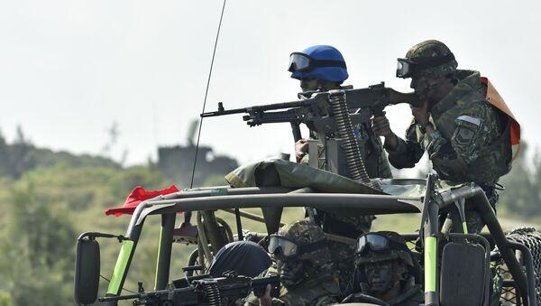 Militares taiwaneses durante unas maniobras (archivo) - Sputnik Mundo